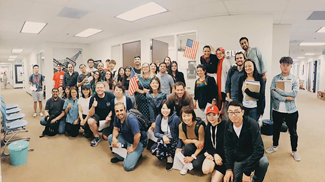 LASC アメリカン ランゲージ アンド カルチャー  ロサンゼルス校